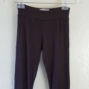 Alice + Oliva brown corded leggings Size Small